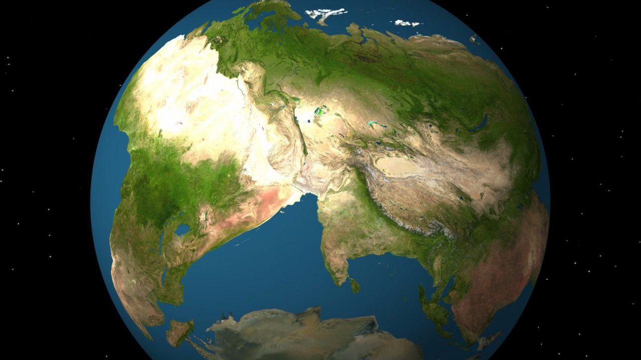 Queste immagini ci mostrano l'aspetto dei futuri supercontinenti della Terra