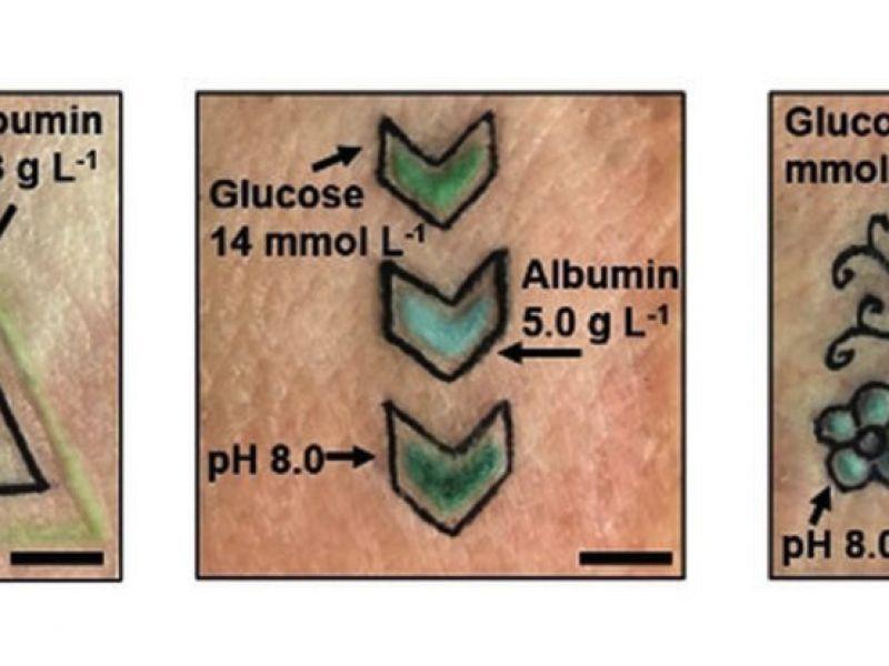 Questi tatuaggi sono in grado di cambiare colore in base allo stato del nostro corpo