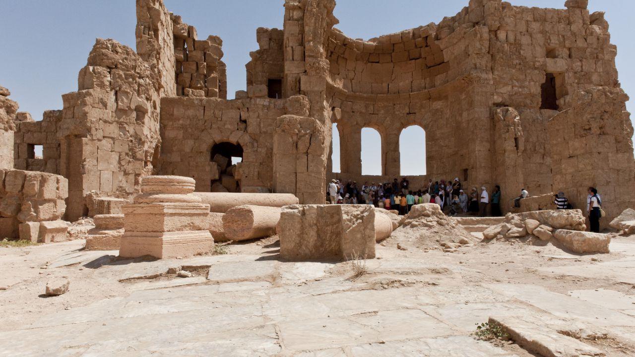 Questo è il Limes Arabicus, una delle frontiere romane più grandi poste nel deserto
