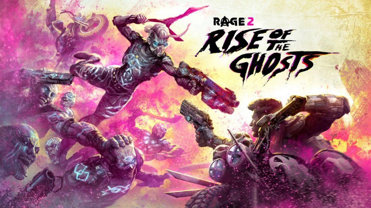 RAGE 2: Bethesda svela la data di uscita e i contenuti del DLC L'Avvento dei Fantasmi