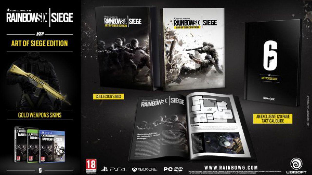 Rainbow Six Siege arriva in tre edizioni speciali