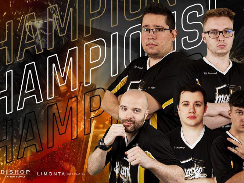 Rainbow Six Siege PG Nats: Macko Esports champions of Italy!