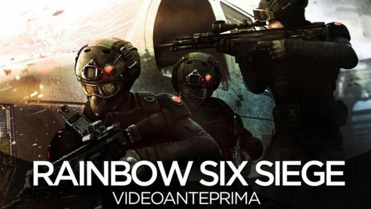 Rainbow Six Siege sarà a 60 FPS su PC, PlayStation 4 e Xbox One