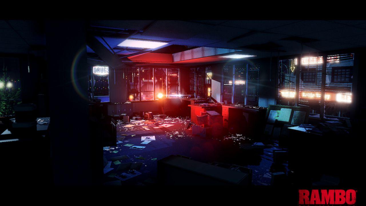 Rambo: The Video Game - un filmato per il gameplay