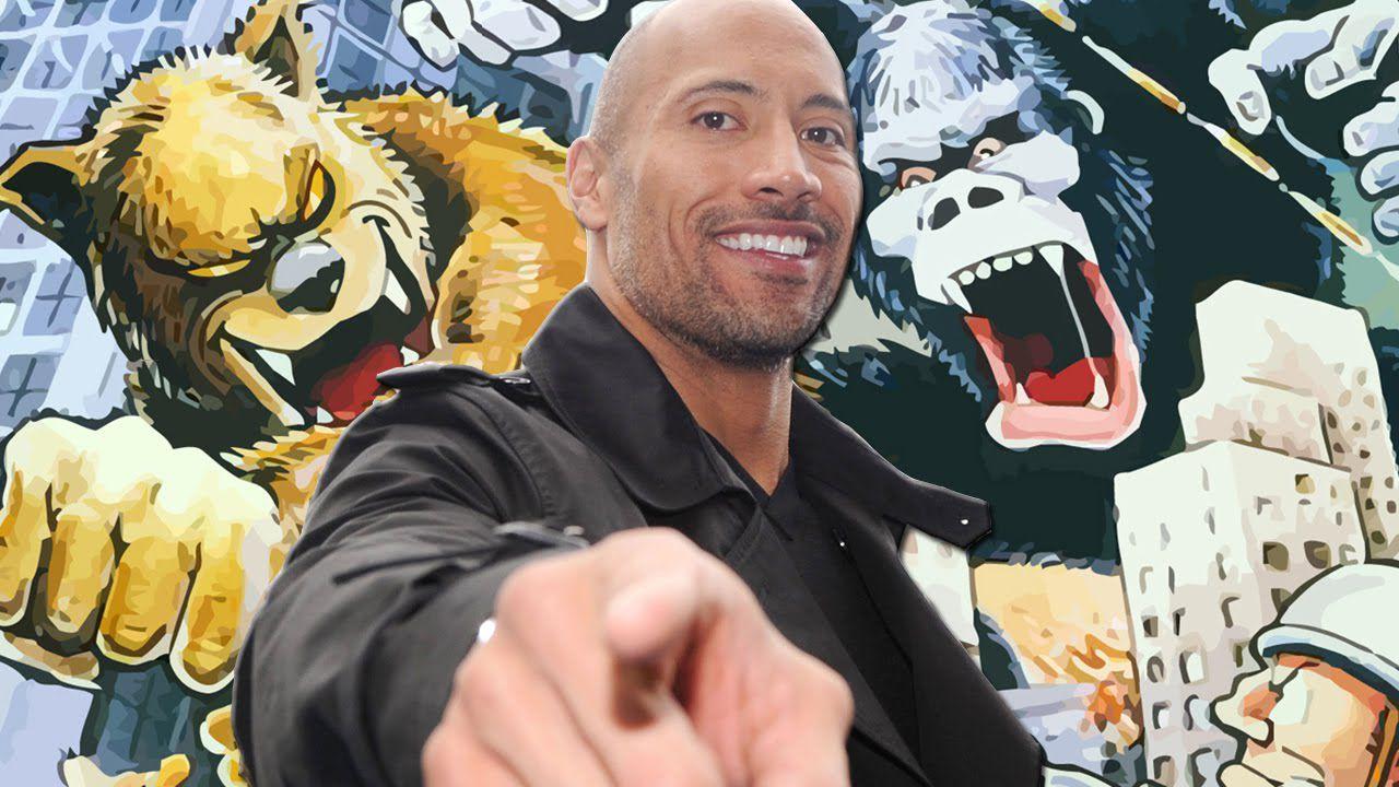 Rampage: Dwayne 'The Rock' Johnson posta una nuova foto dal set
