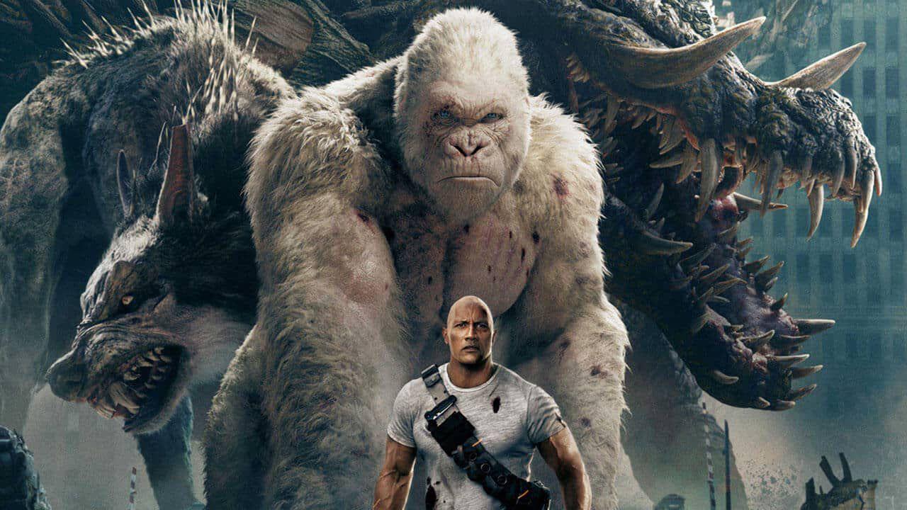 Rampage, il finale originale che ha quasi spinto The Rock ad abbandonare il film