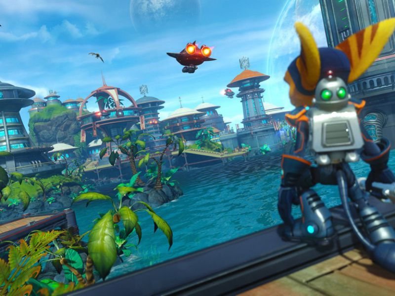 Ratchet & Clank free for PS4: how to upgrade weapons and gadgets