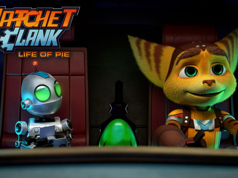 Ratchet & Clank Life of Pie, a surprise TV show appears: is it connected to Rift Apart?