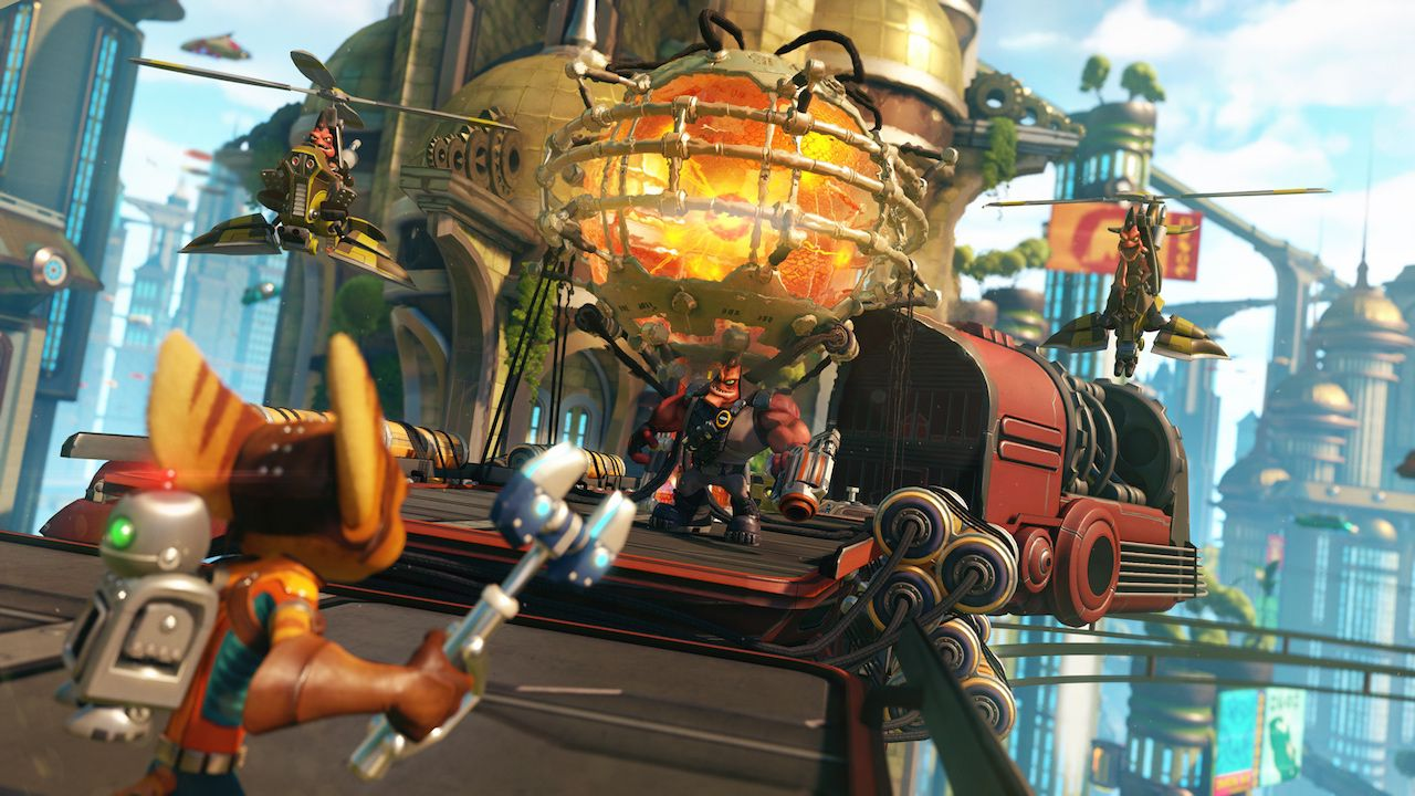 Ratchet & Clank per PlayStation 4 si lascia ammirare nel primo video di gameplay