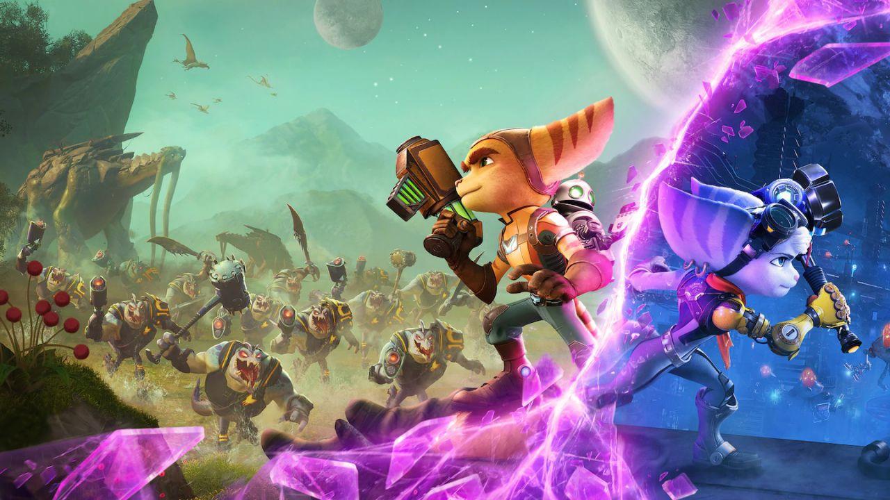 Ratchet & Clank Rift Apart: GameStopZing apre i preordini con bonus digitali