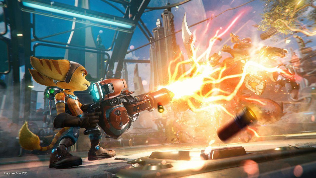 Ratchet e Clank Rift Apart: i vantaggi del DualSense svelati da Insomniac Games