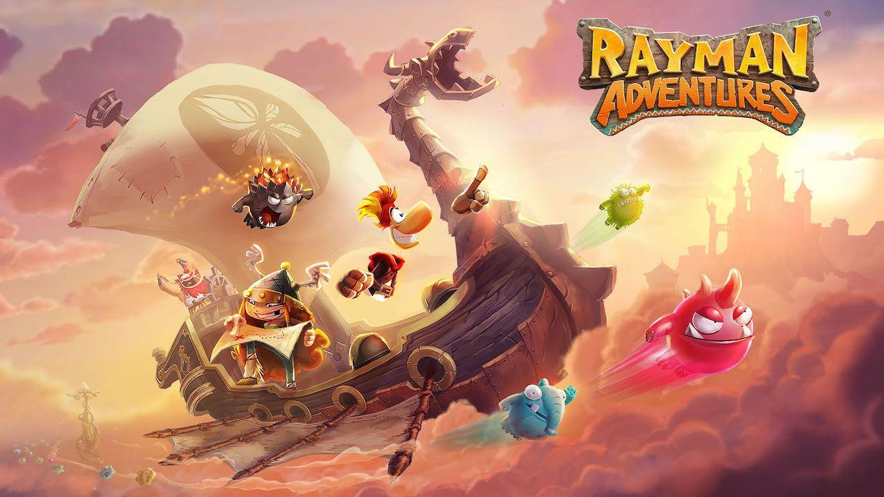 Rayman Adventures è disponibile su smartphone e tablet