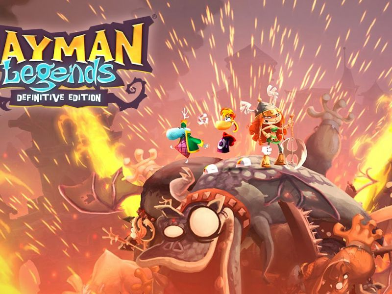 Rayman Legends Definitive Edition esce il 12 settembre su Nintendo Switch