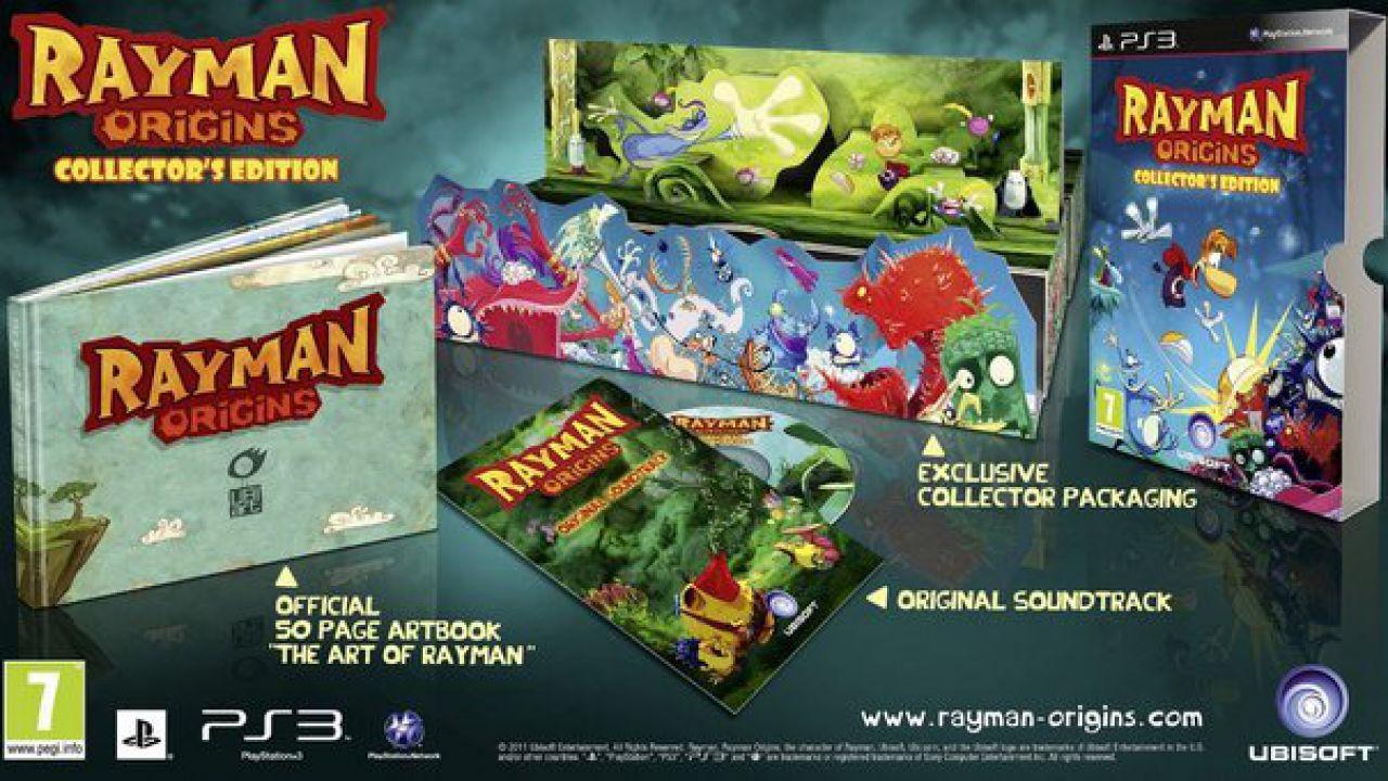 Rayman Origins: video gameplay tratto dalla versione PS Vita