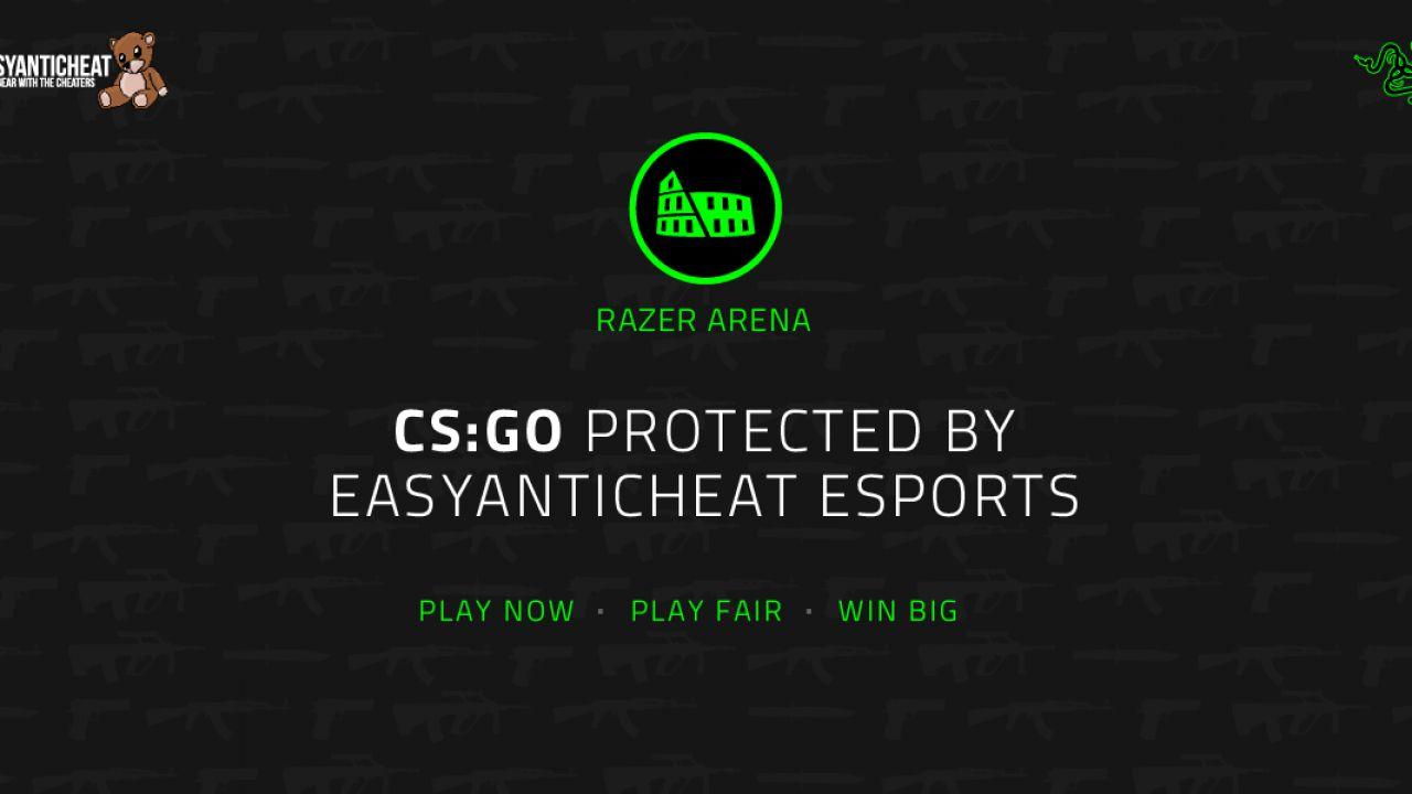 Razer Arena: i server sono ora protetti da EasyAntiCheat