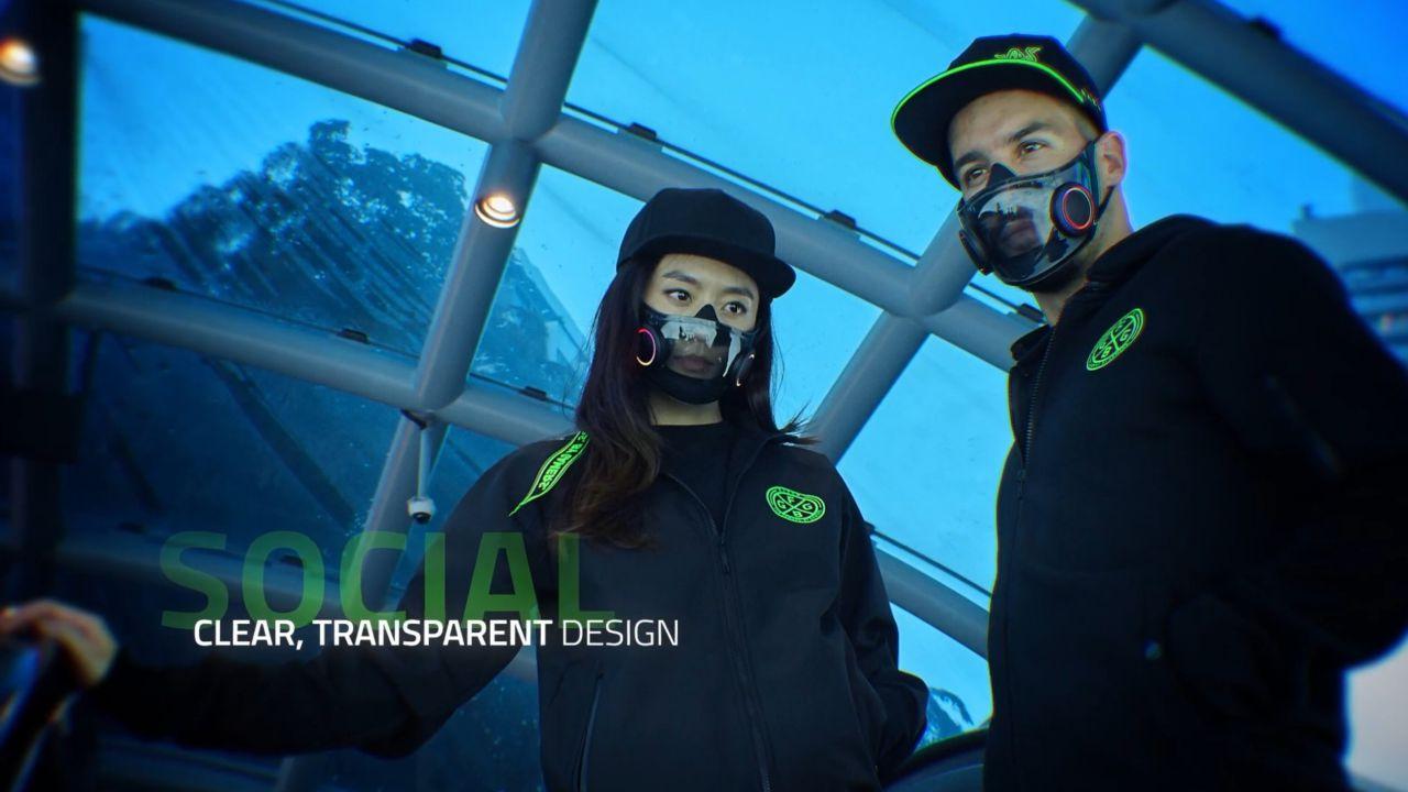 Razer Project Hazel: prima mascherina di protezione N95 con gli RGB