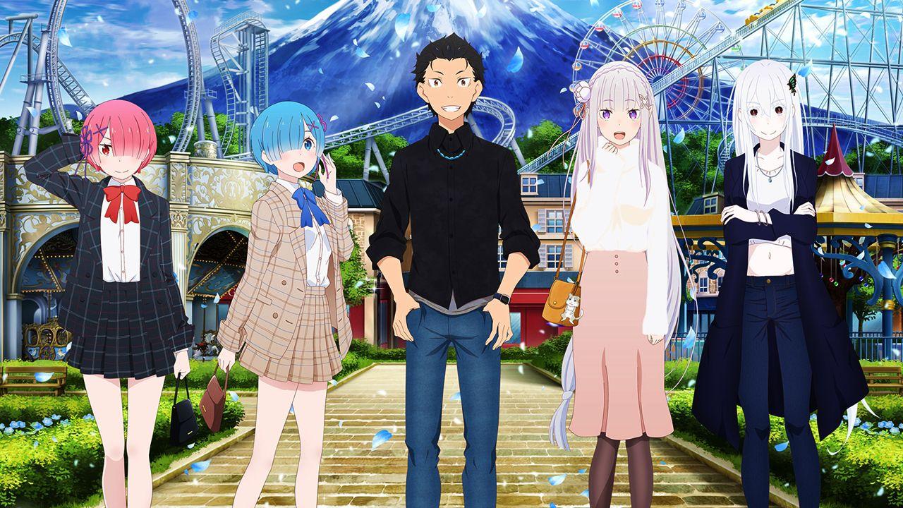 Re: Zero è il protagonista di un parco divertimenti in Giappone, ecco le nuove attrazioni