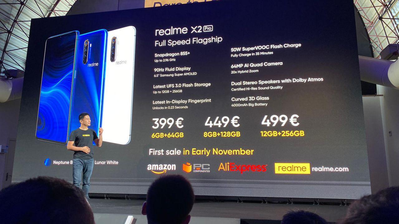 Realme X2 Pro è ufficiale: quattro fotocamere e 12GB di RAM a 499 Euro