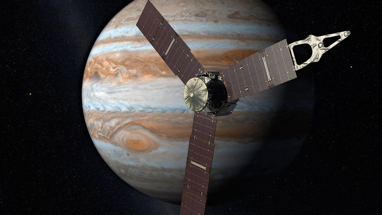 Recentemente la sonda Juno ha compiuto un'incredibile manovra evasiva per schivare Giove