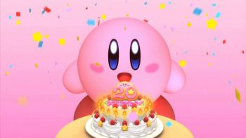Record di palloncini con la gomma da masticare per i 20 anni di Kirby