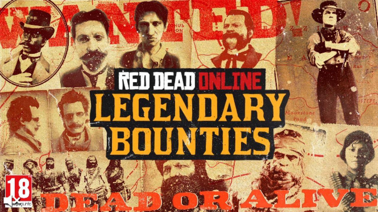 Red Dead Online: tonano tutte le Taglie Leggendarie, anche su PC e Google Stadia