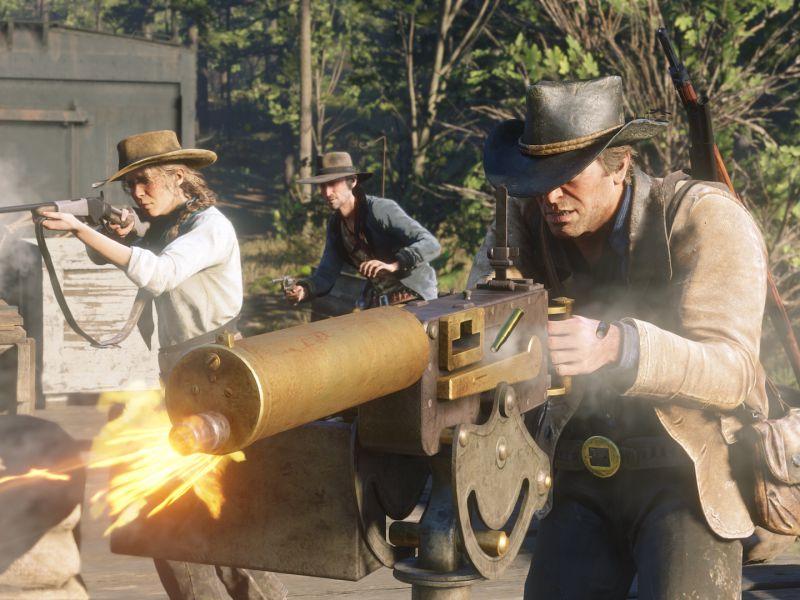 Red Dead Redemption 2: Devolver si offre (scherzosamente) di portare il gioco su PC