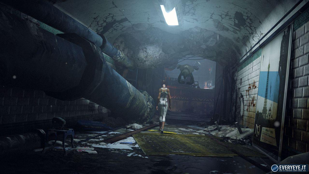 Remember Me: video gameplay offscreen