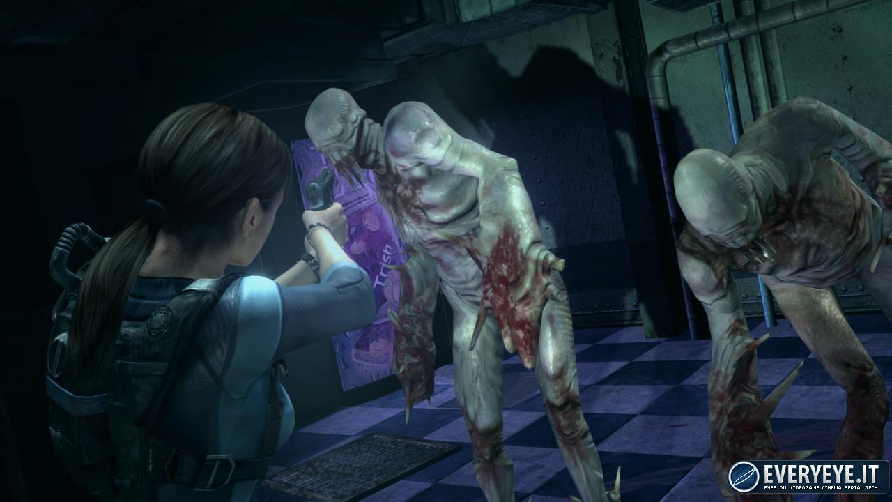Resident Evil: Revelations HD: una piscina insanguinata a Londra per promuovere il lancio