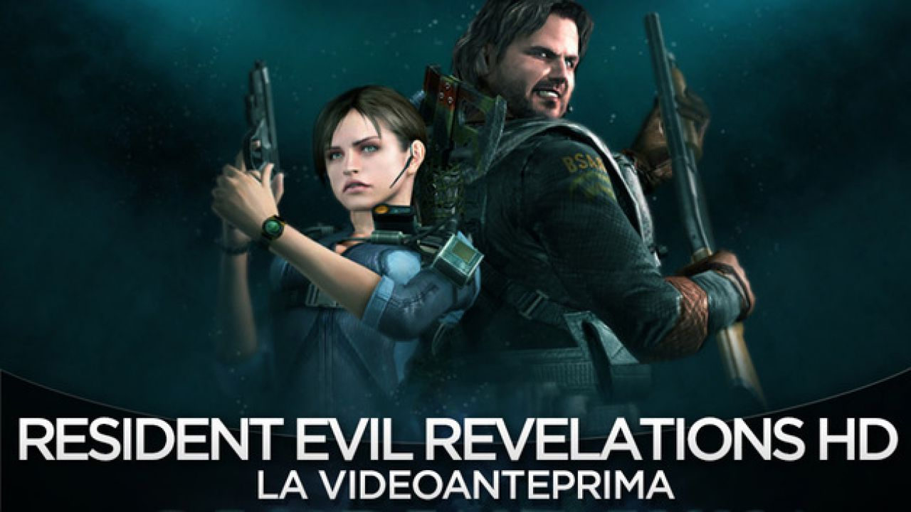Resident Evil: Revelations HD: video gameplay off-screen
