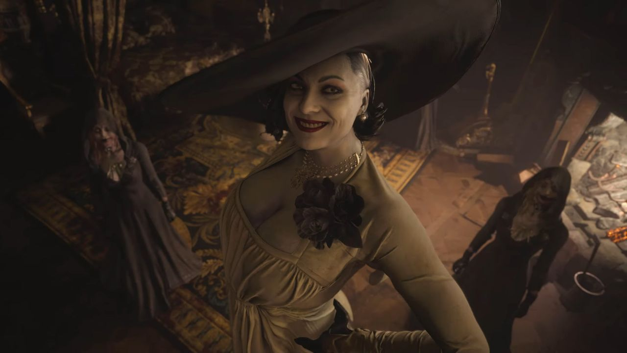 Resident Evil: un sexy cosplay di Lady Dimitrescu è pronto a uccidervi