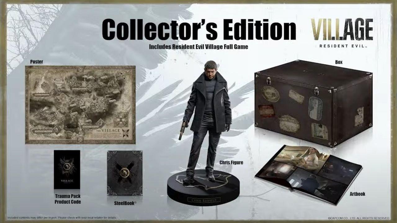 Resident Evil Village: svelati bonus preordine, Digital Deluxe e Collector's Edition