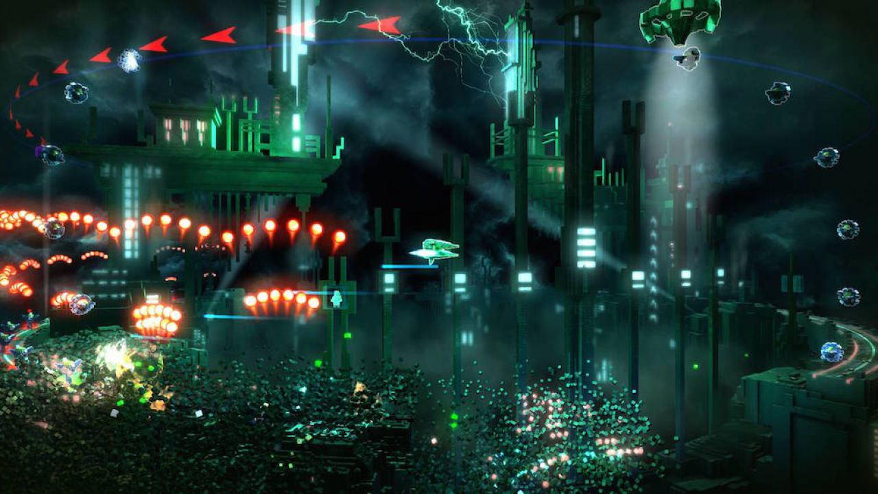 Resogun arriverà anche su PlayStation Vita