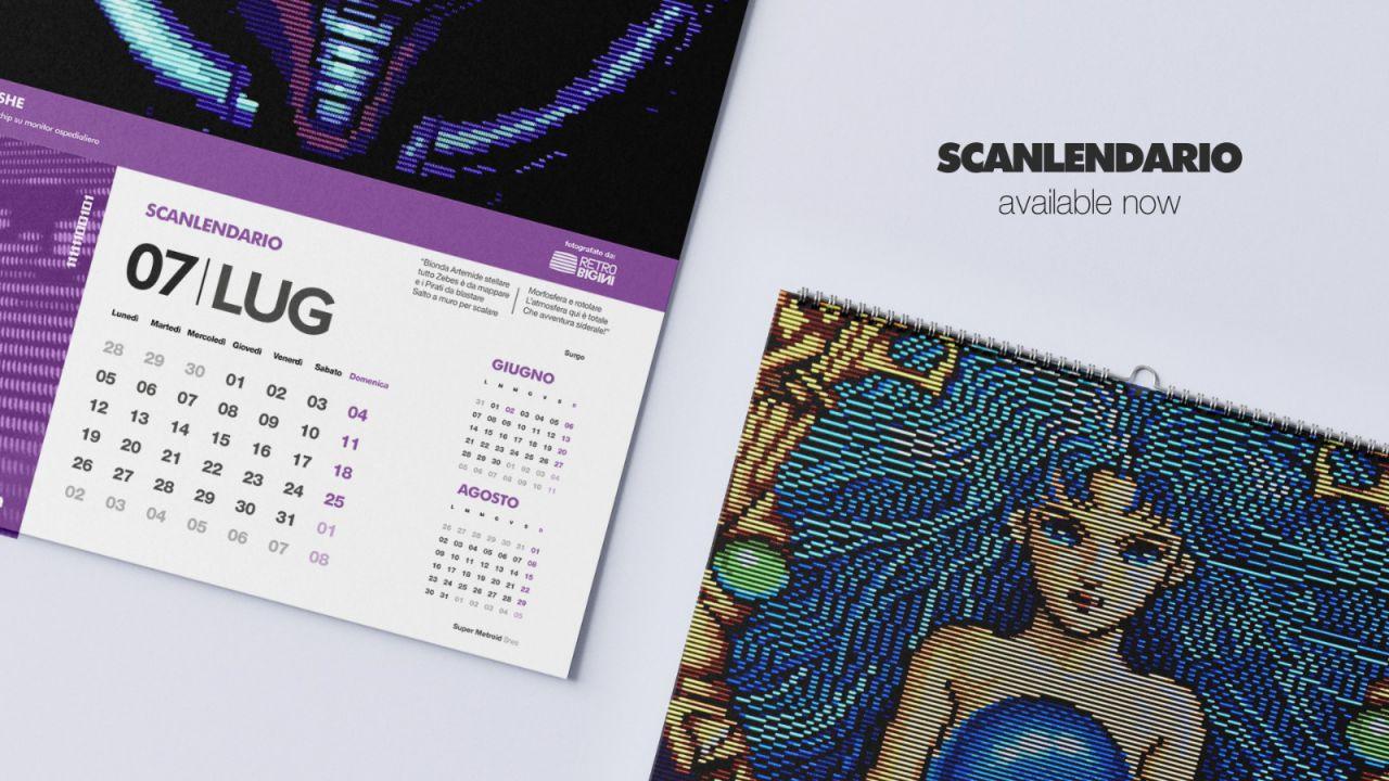 Retrogaming, Pixel Art, Covid e solidarietà: arriva Scanlendario, proventi in beneficienza