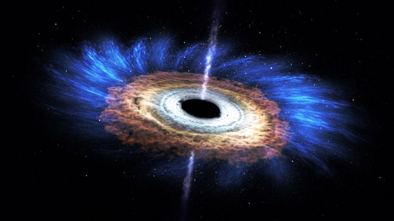 Ricercatori trovano un buco nero con due dischi di accrescimento, anziché solo uno