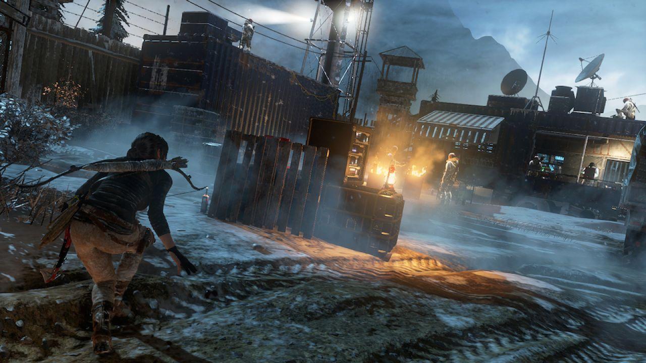 Rise of the Tomb Raider: un filmato mostra 14 minuti di gameplay