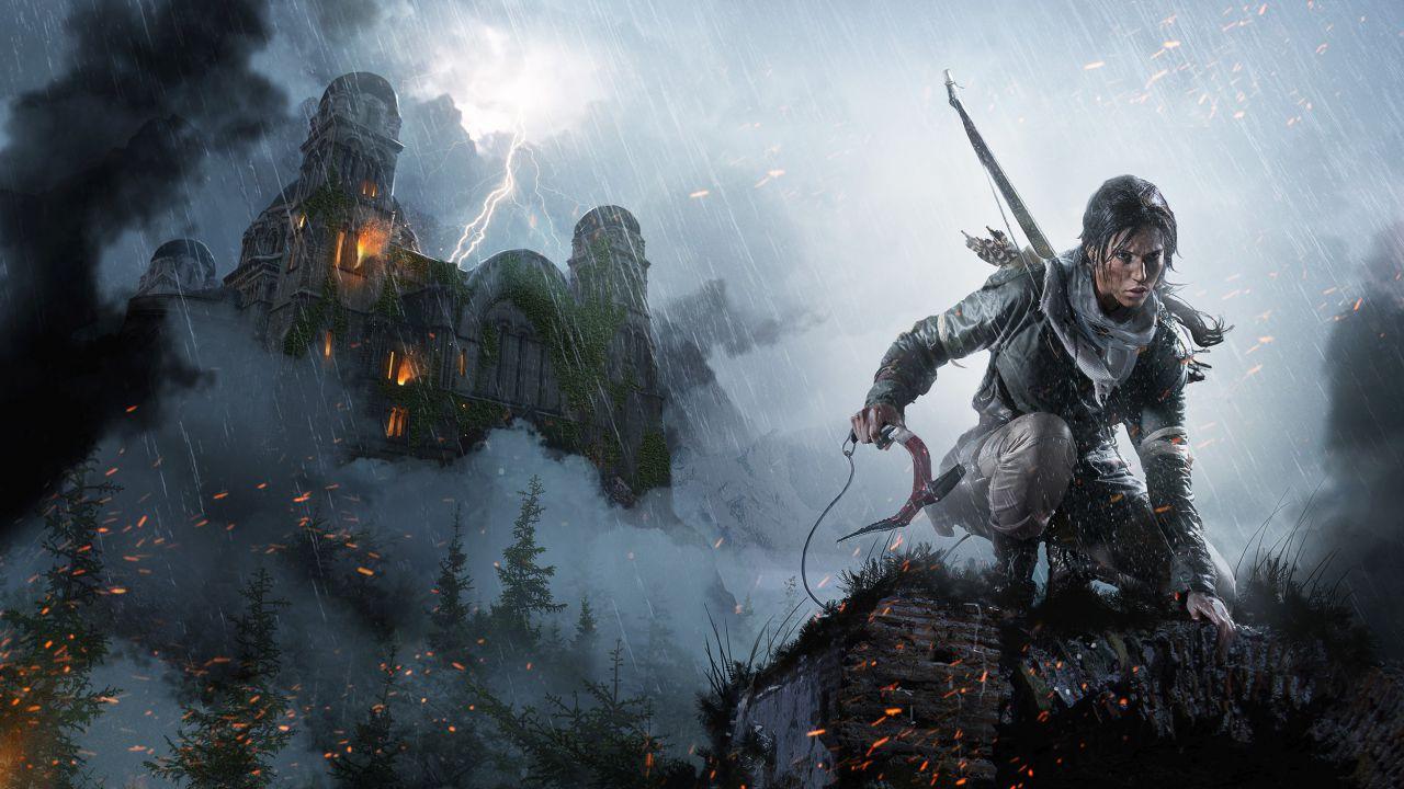 Rise of the Tomb Raider si mostra a 4K su PS4 Pro