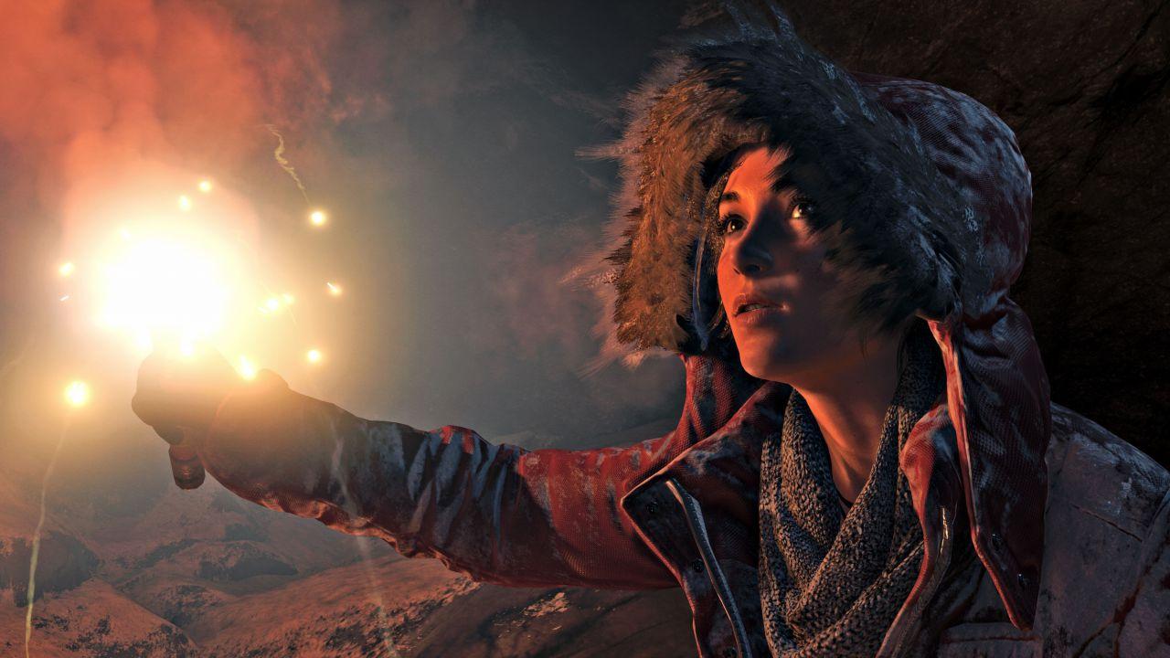 Rise of the Tomb Raider uscirà insieme a Fallout 4 ma Crystal Dynamics non è preoccupata