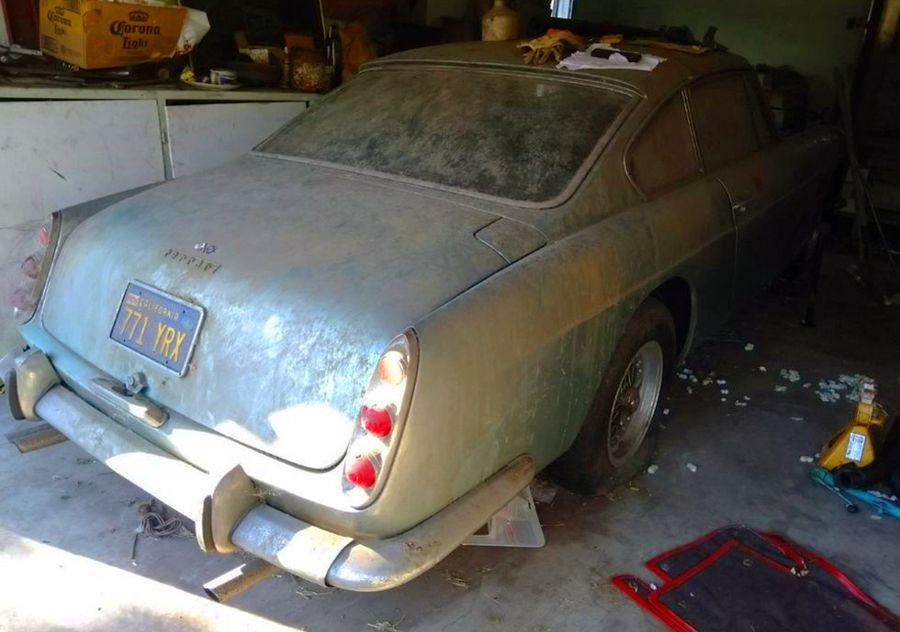 Ritrovata in un garage abbandonato una Ferrari 250 GTE dal valore immenso
