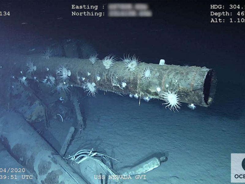 Ritrovato dopo 70 anni il relitto della USS Nevada, la nave 'inaffondabile' degli USA