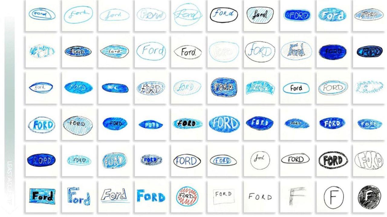 Riuscireste a disegnare il logo di una casa automobilistica? Scommettiamo di no