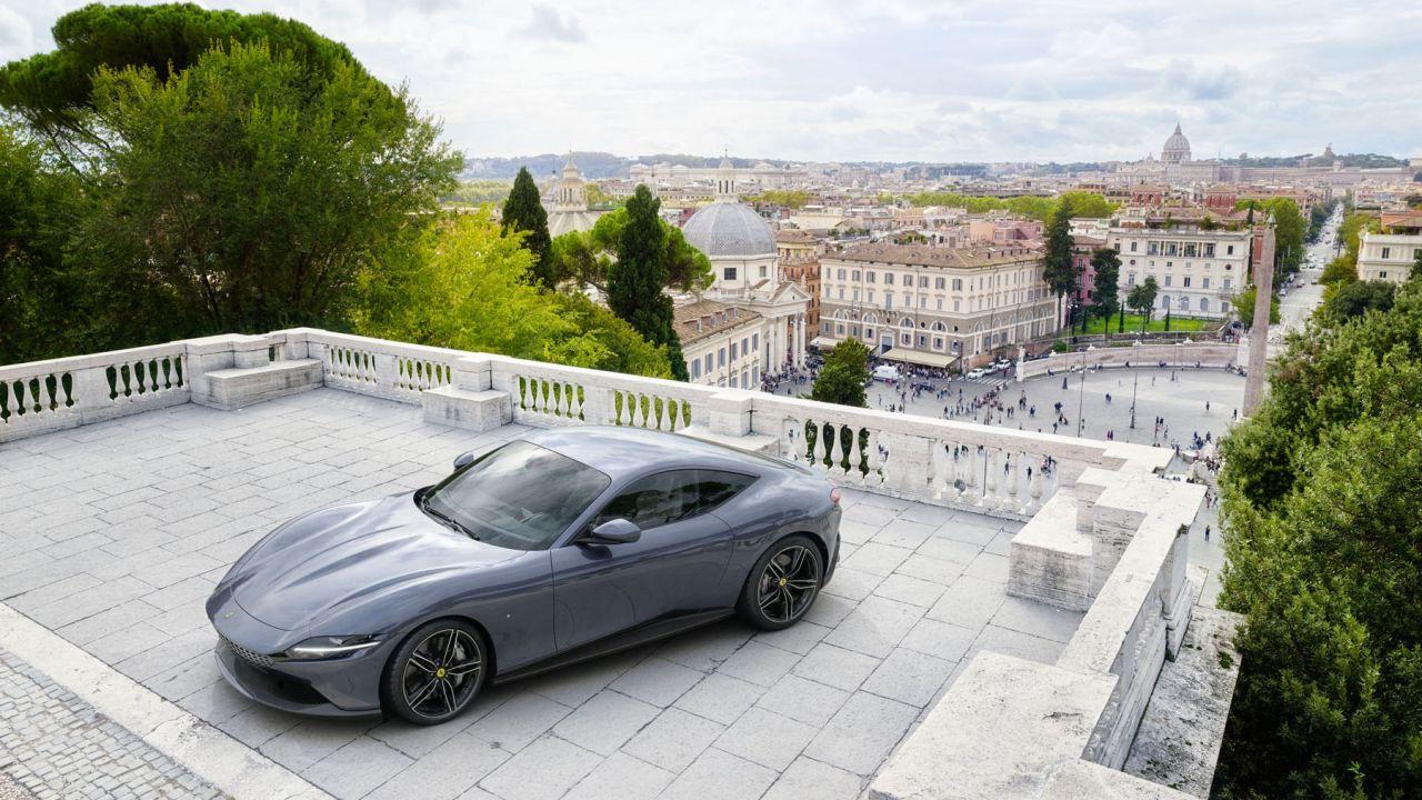 Rivelate le specifiche ufficiali della Ferrari Roma e i suoi optional