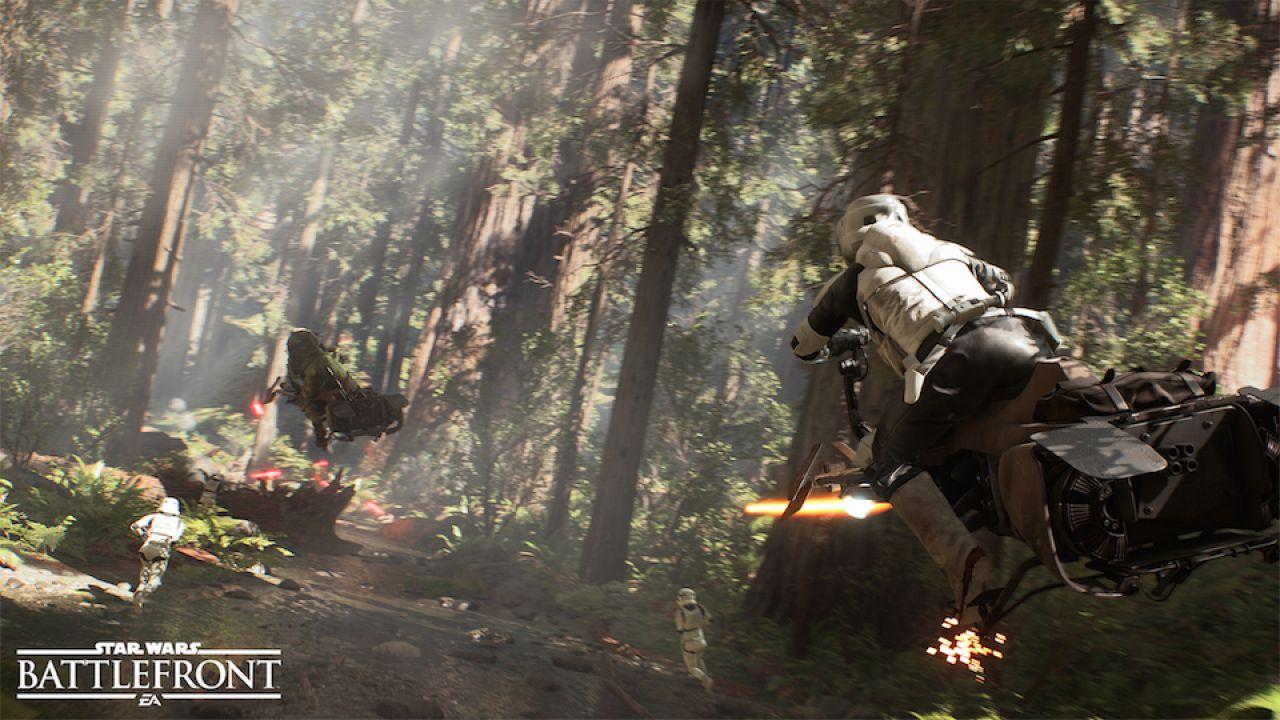 Rivelate le versioni Standard e Deluxe di Star Wars Battlefront ed il primo DLC