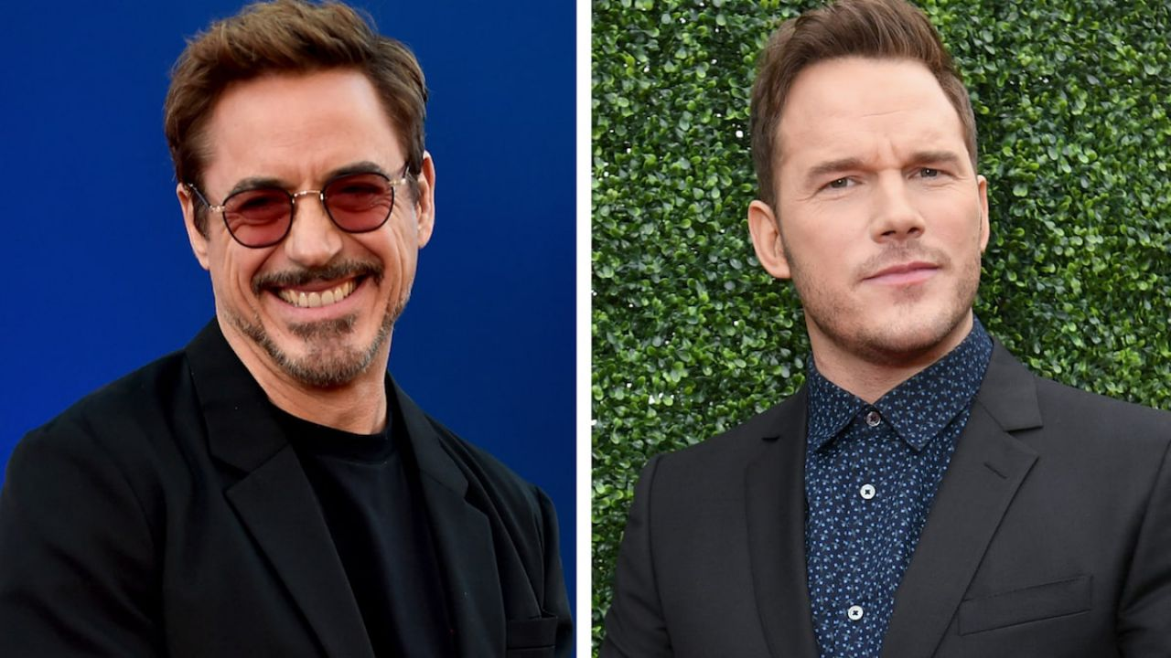 Robert Downey Junior cancella Tom Holland da una foto a sostegno di Chris Pratt