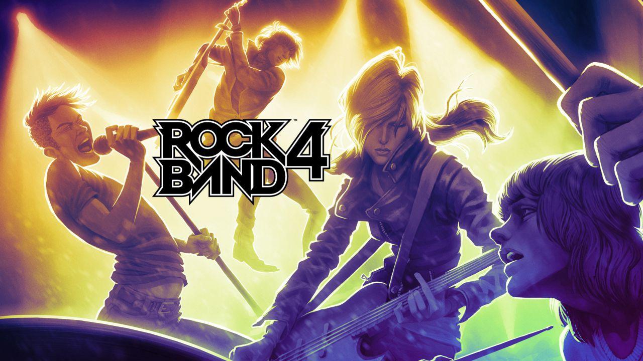 Rock Band 4 si aggiorna con nuove modalità e canzoni