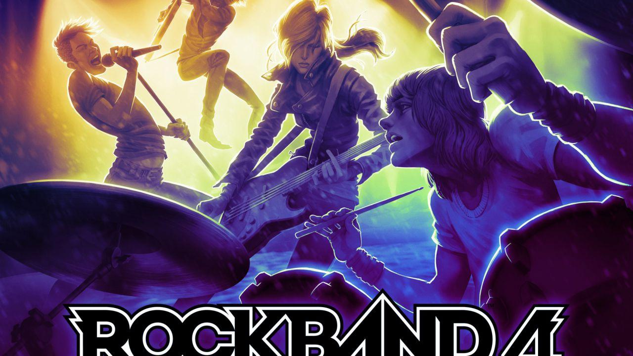 Rock Band 4 supporterà i precedenti DLC