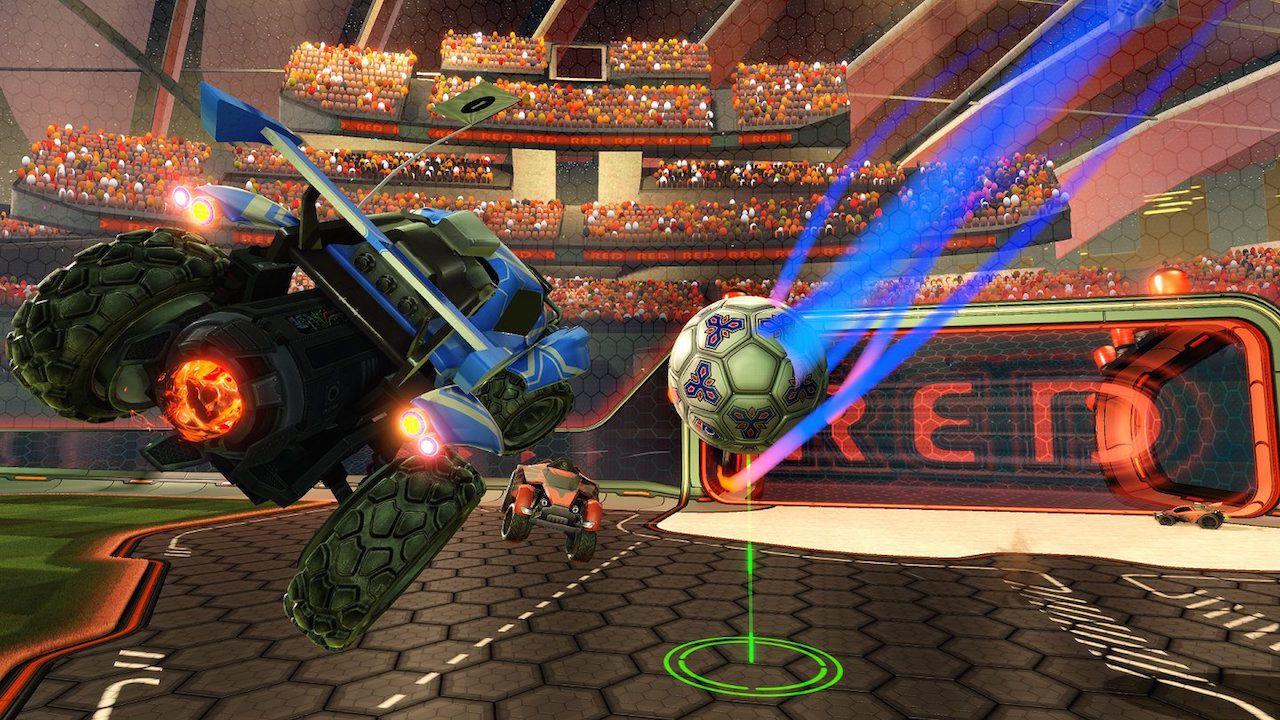 Rocket League giocato in diretta su Twitch alle 17:00