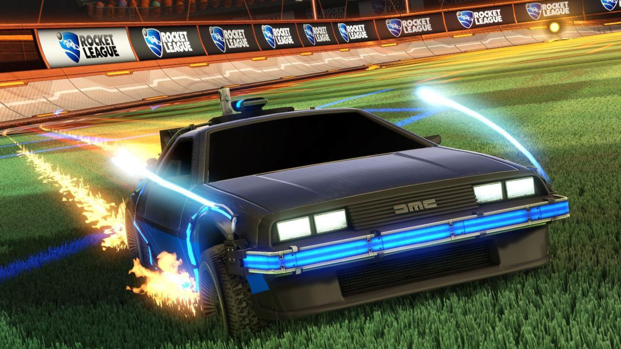 Rocket League ritorna al futuro con una nuova auto davvero speciale