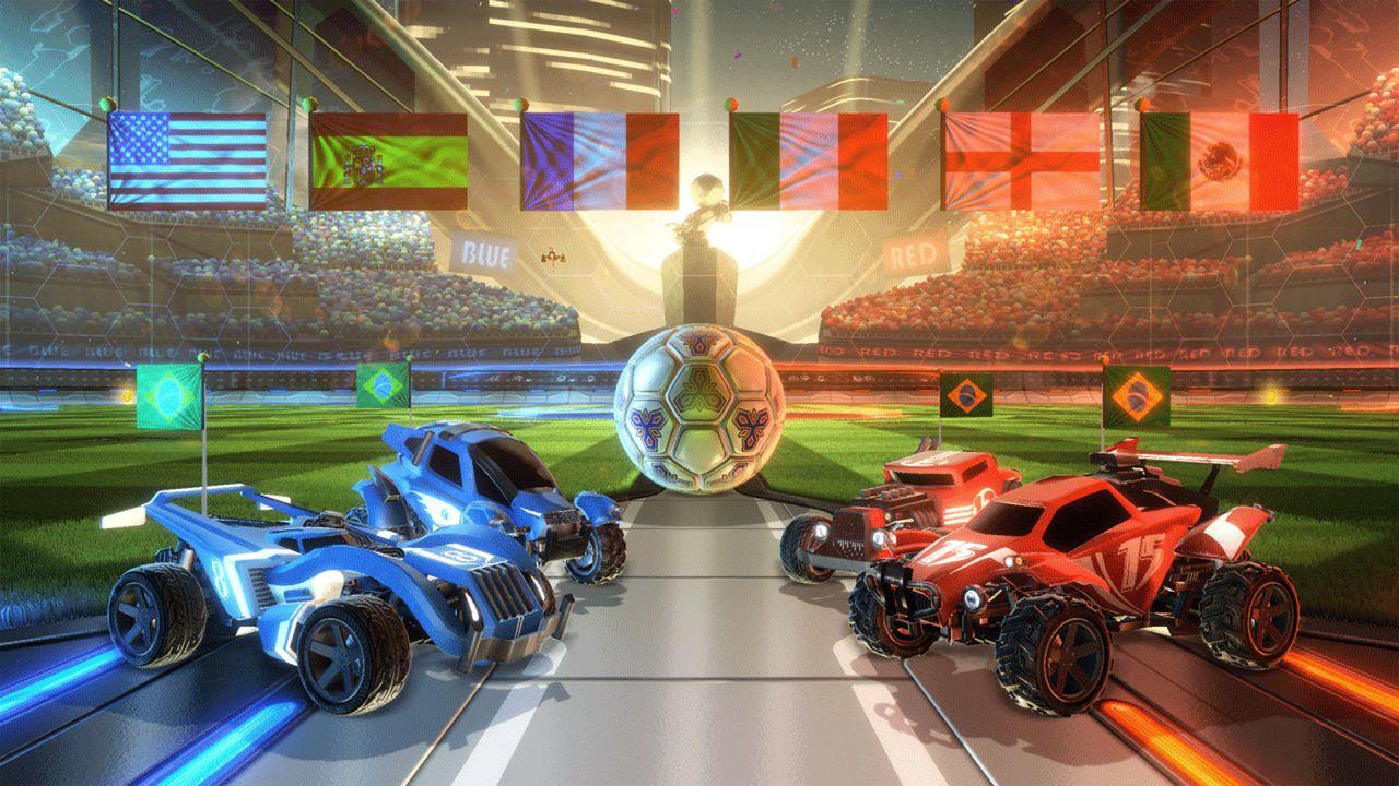Rocket League si aggiorna con una nuova mappa e la modalità spettatore