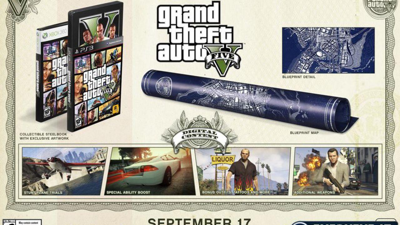 Rockstar Games annuncia che Grand Theft Auto 5 è disponibile da oggi nei negozi