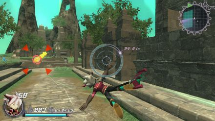 Rodea the Sky Soldier si mostra in azione